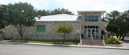 Sutton County Library Front